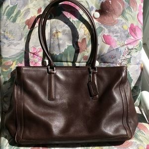 Coach 9426 Briefcase/ Bag/ Tote Leather
